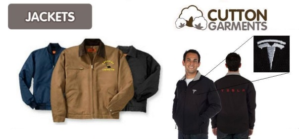Product Banner Jacket Corporate website