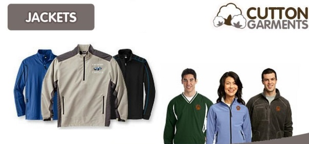 Product Banner Jackets website