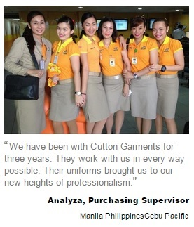 Cebu Pacific Uniform