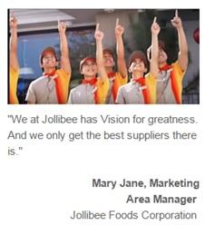 Jollibee Uniform